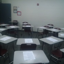 Socratic Seminar set up