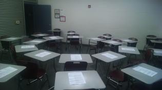 Socratic Seminar set up